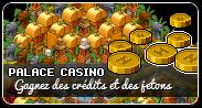 Accéder au Palace casino pour tenter de gagner des crédits Habbo