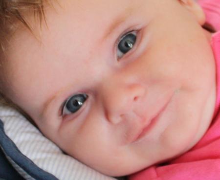 Les yeux de b b grossesse accouchement le partenaire de la femme enceinte - Yeux gris bleu ...