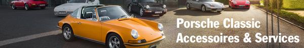 Porsche Classic accessoires et services