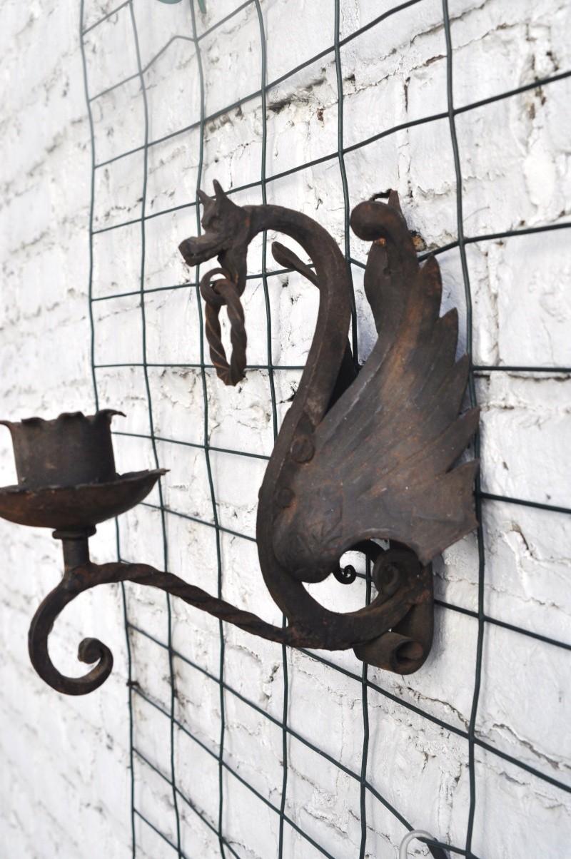 Une applique en fer forge - Nettoyer une semelle de fer ...