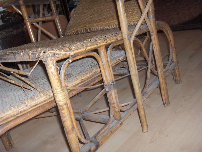 Une chaise longue en rotin for Chaise longue rotin