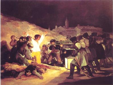 Les fusillés du 3 mai 1808 (Goya, 1814)
