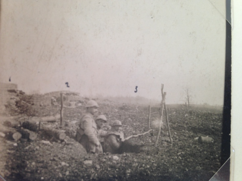 photos exceptionnelles attaque du bois des Corbeaux, Verdun, par le