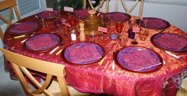 D coration de table marocaine for Table marocaine
