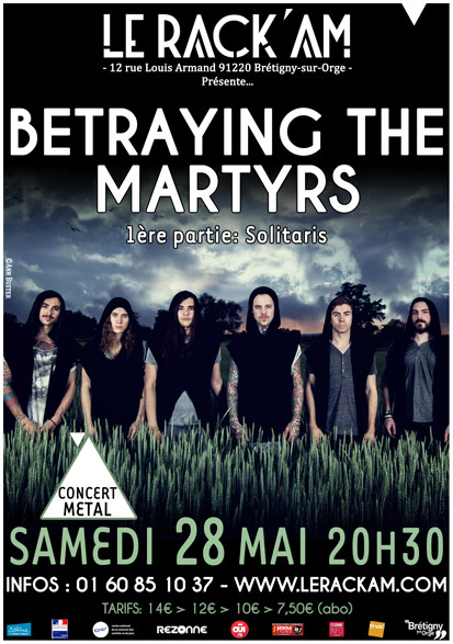 Betraying The Martyrs @ Bretigny sur Orge