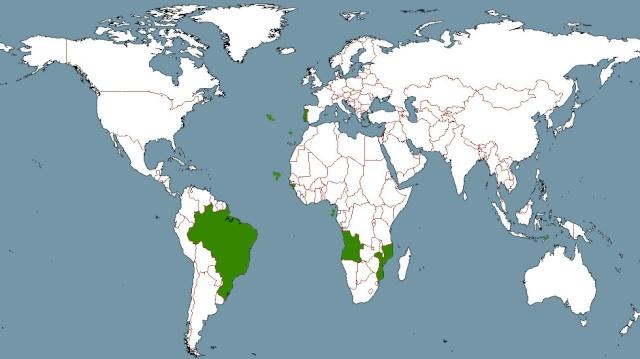 carte du monde bresil - Image