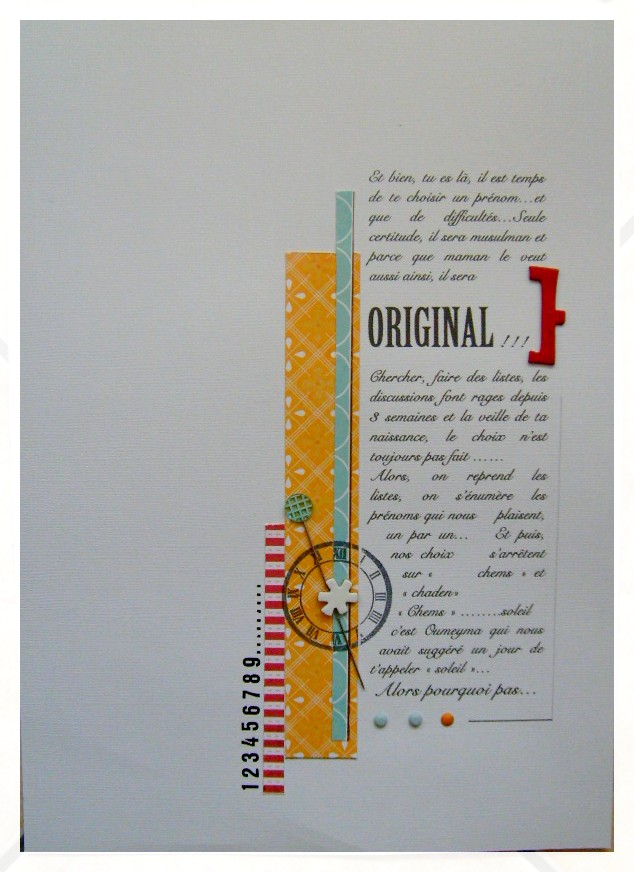 Le blog de lescrapdeclarinete.over blog  mes pages de scrap, sans