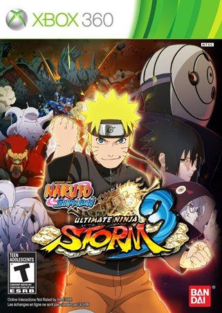 Naruto Shippuden Ultimate Ninja Storm 3 (2013/XBOX360)