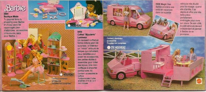 barbie et sa voiture et la caravane pour chevaux voitures. Black Bedroom Furniture Sets. Home Design Ideas