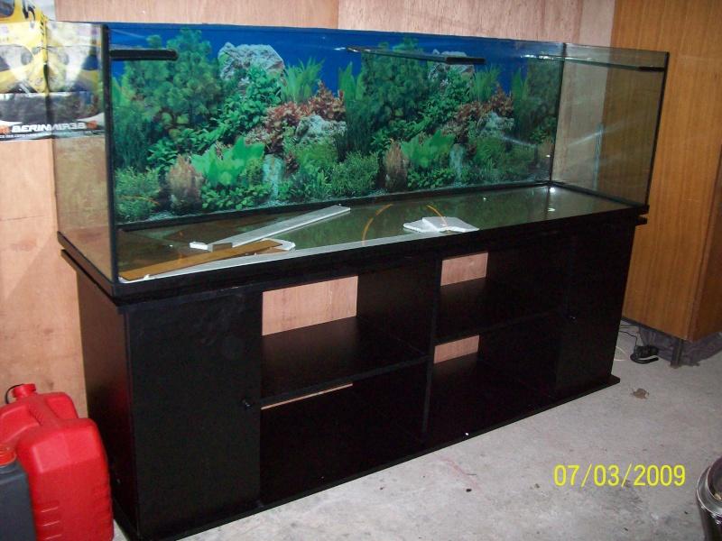 Aquarium de 600 litres avec meuble et eclairage hql - Aquarium 200 litres avec meuble ...