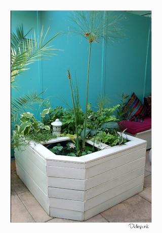 Projet de petit bassin - Bassin fontaine pour terrasse colombes ...