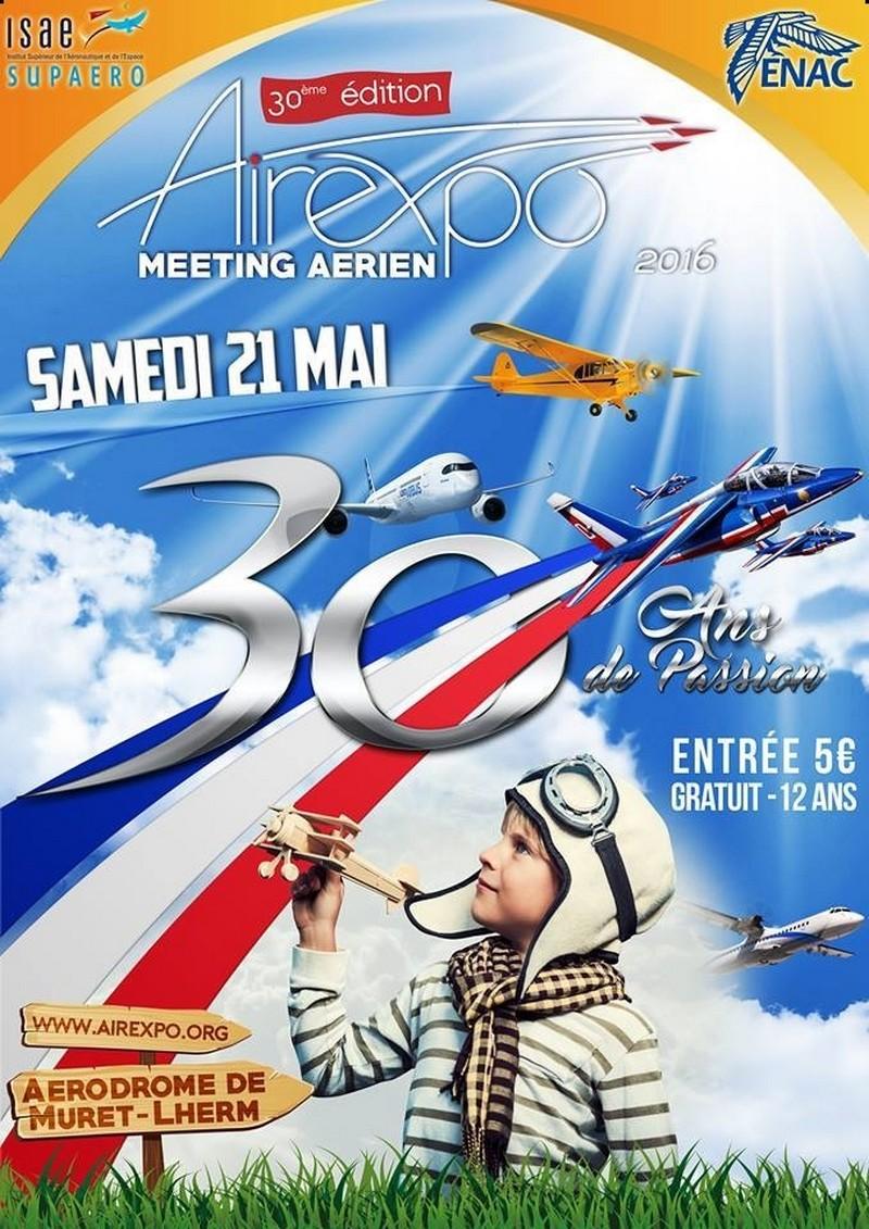 Airexpo,30ème édition,Aérodrome de Muret-Lherm,Airexpo 2016, Meeting Aerien 2016,Airshow 2016, france spectacle aerien, French Airshow 2016