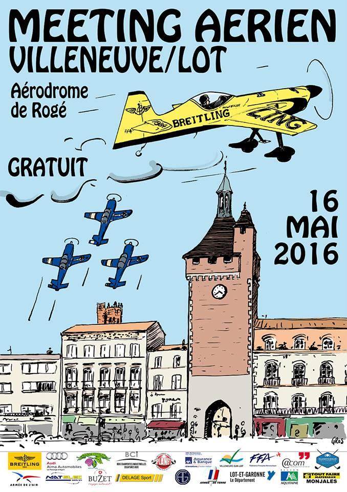 Villeneuv'Air Show, Villeneuv Airshow 2016, Meeting Aerien 2016, Airshow 2016, French Airshow 2016
