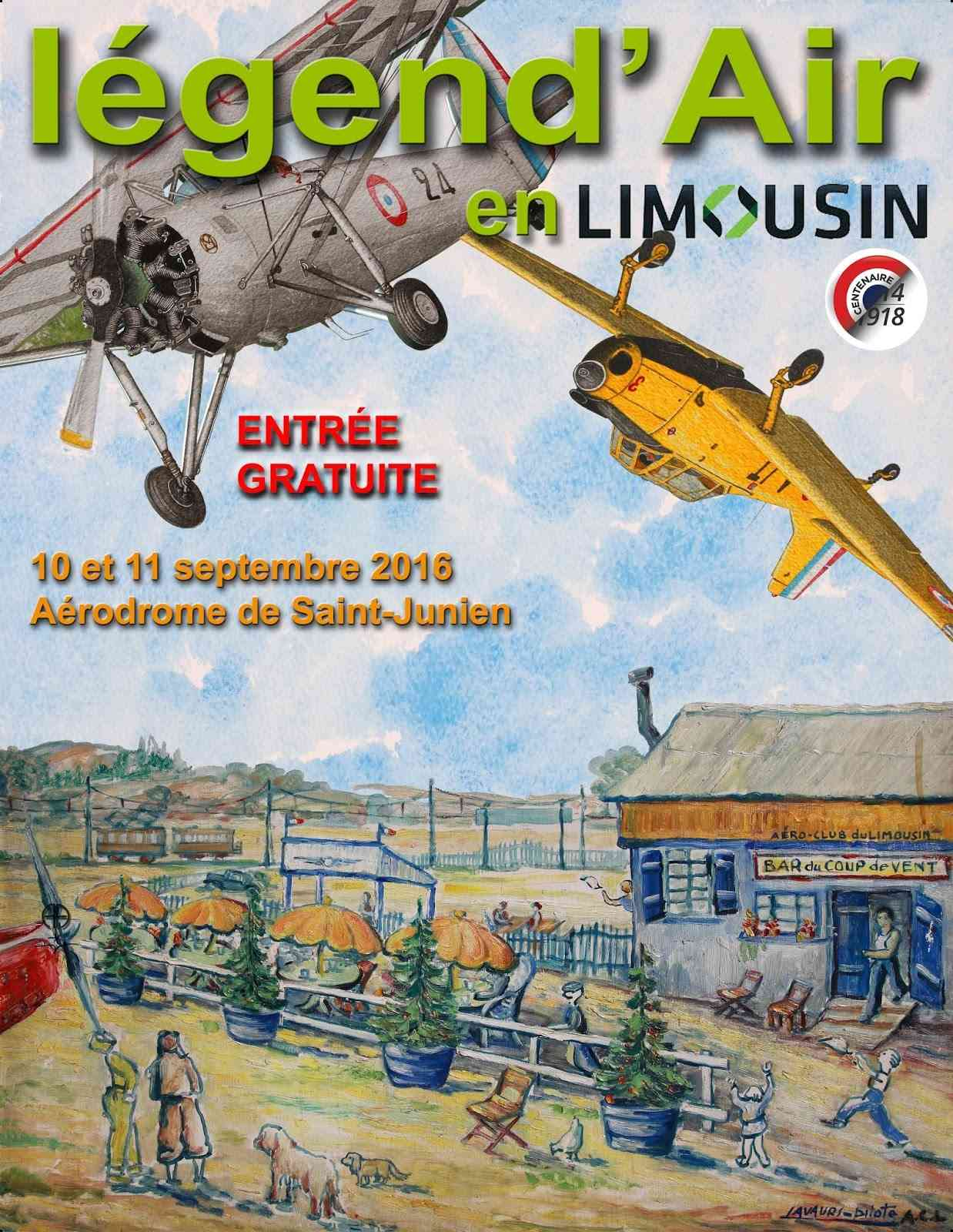 Légend'Air en Limousin 2016,Aérodrome de Saint Junien, Meeting Aerien 2016,Airshow 2016, French Airshow 2016