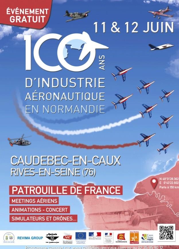 Centenaire de l'Aéronautique caudebec-en-caux 2016,Bleu Ciel Airshow ,patrouille de france 2016 , Meeting Aerien 2016,Airshow 2016, French Airshow 2016