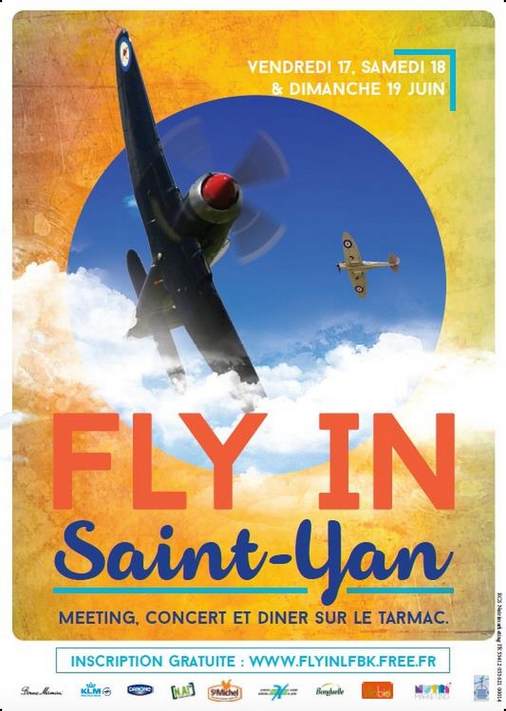 FLYIN Saint YAN 2016, Meeting Aerien 2016,FLY IN Saint YAN, Airshow 2016, French Airshow 2016