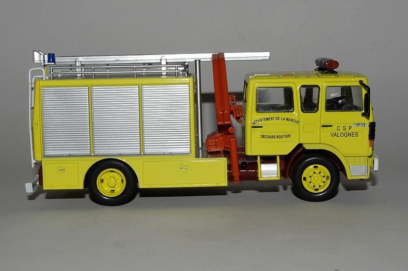 Mercedes Benz L Pompier Avec Grue