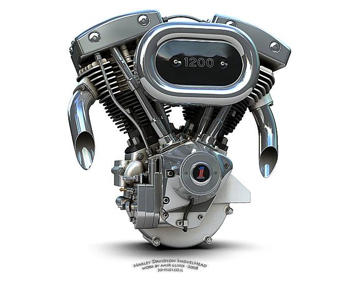 Moteur V Harley Davidson