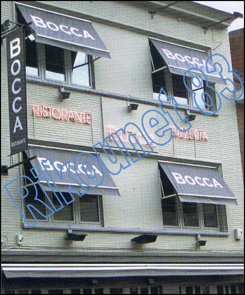 Restaurant Bocca (ancien Primo Tempo) ex propriétaire Claude Barzotti