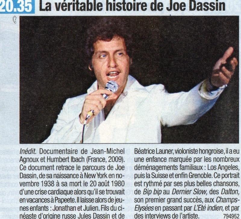 "Blog de barzotti83 : Rikounet 83, France 3 diffuse ce 20 mai 2009 ""La véritable histoire de Joe dassin"""