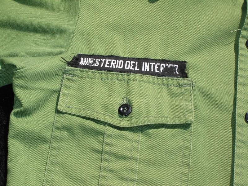 Cuban ministerio del interior uniform for Ministerio del interion