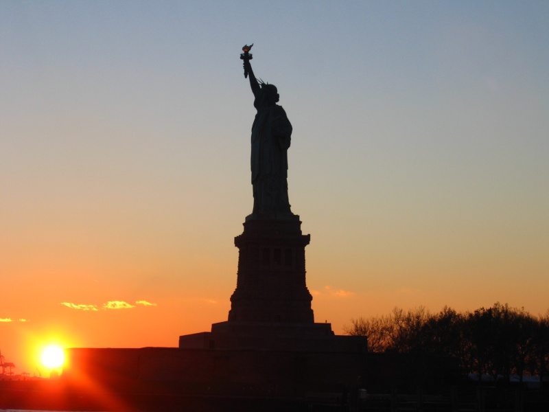 Coucher de soleil new york - Coucher du soleil new york ...