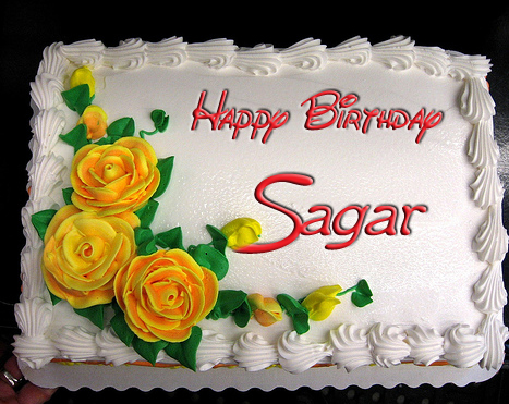 Happy Birthday SAGAR