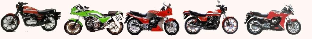 Tous les gros 4-pattes Kawasaki des années 80 !