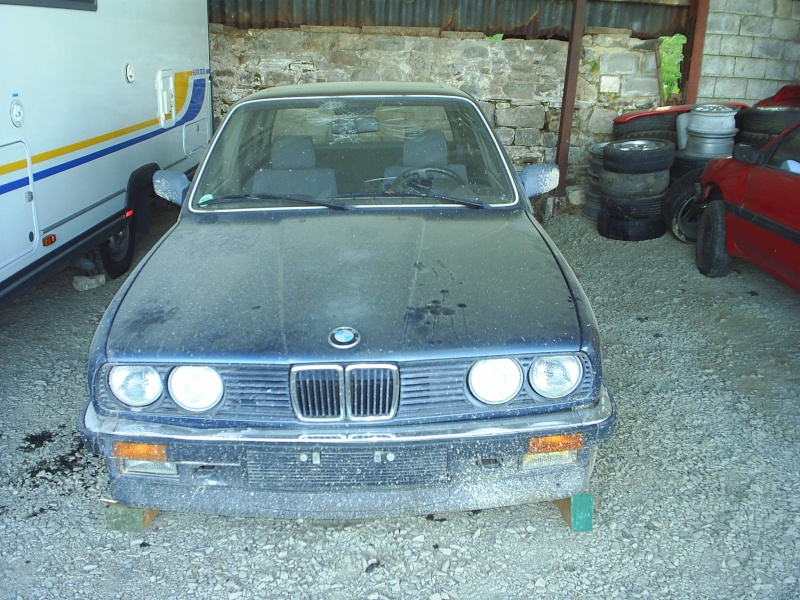 restauration total de ma bmw 320i e30 1985 restaurations anciennes forum collections. Black Bedroom Furniture Sets. Home Design Ideas