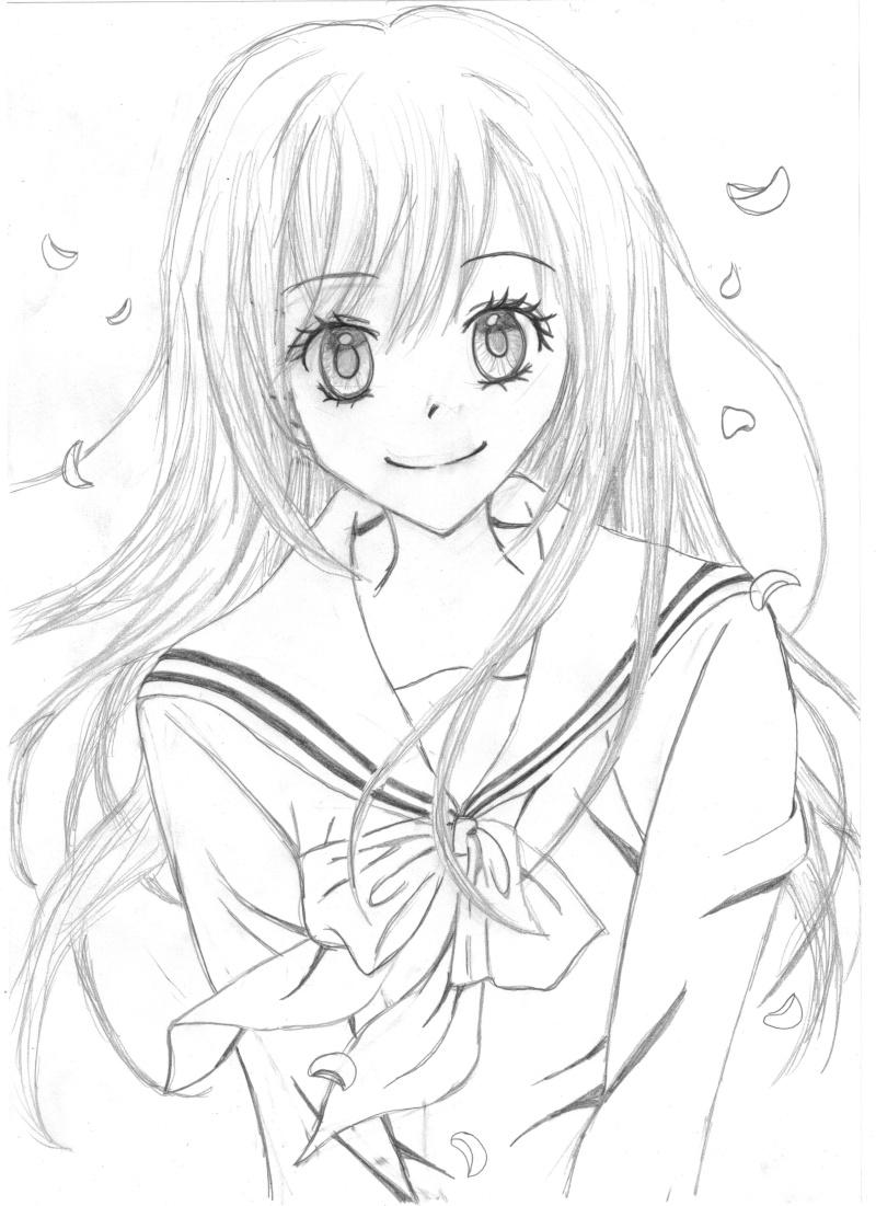 Dessin voici mes dessins de manga page 2 - Manga dessin a imprimer ...