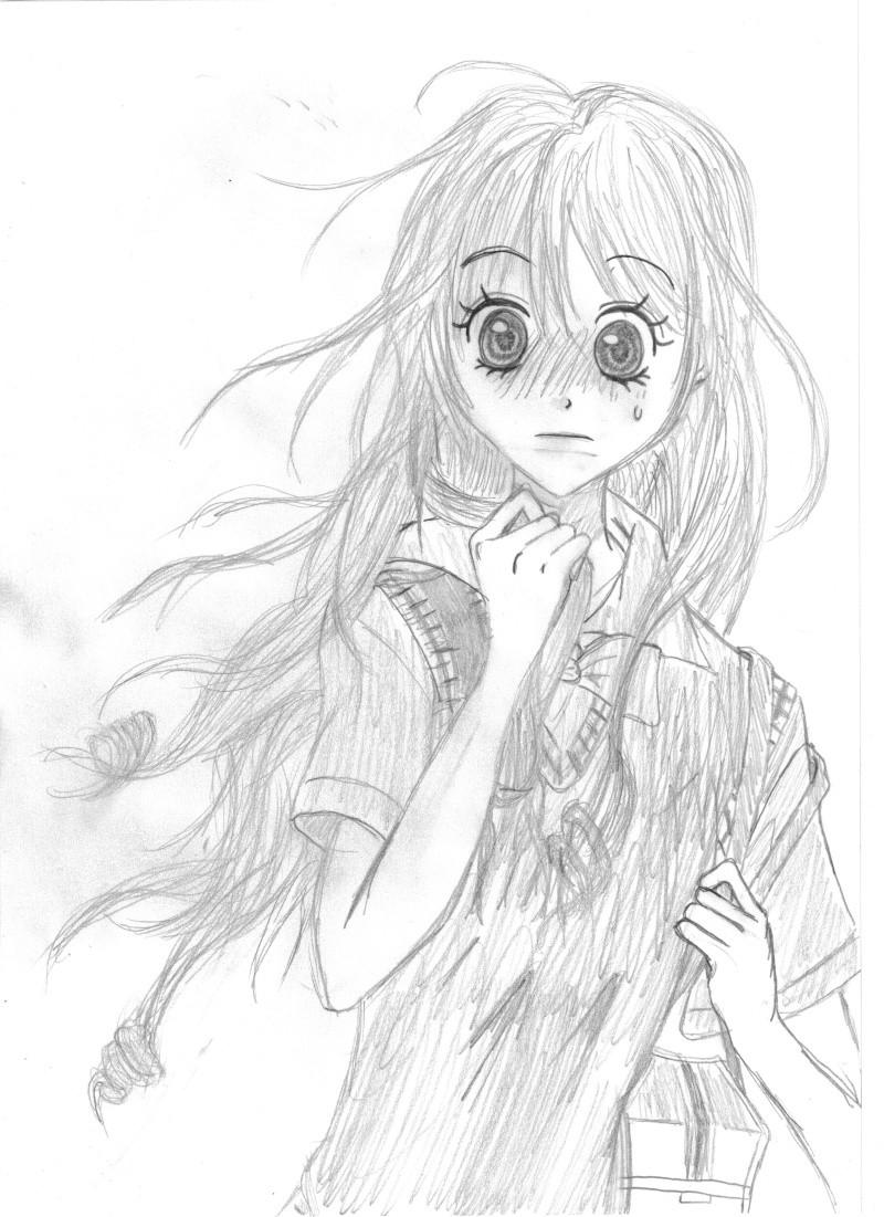 Dessin de visage enerver manga dessin de manga - Dessin manga visage ...