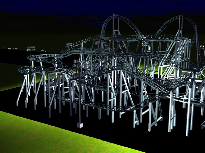 how to make disneyland in roller coaster tycoon 3