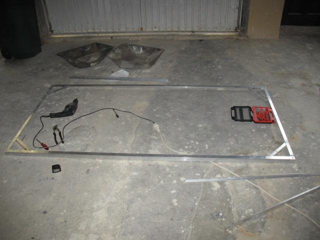 Construction du 1200 litres