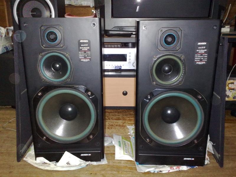 jensen lx10 speakers used sold. Black Bedroom Furniture Sets. Home Design Ideas