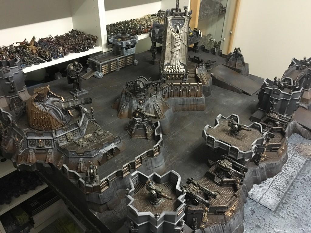 40k forteresse imp riale d cors warhammer forum for Decor 40k