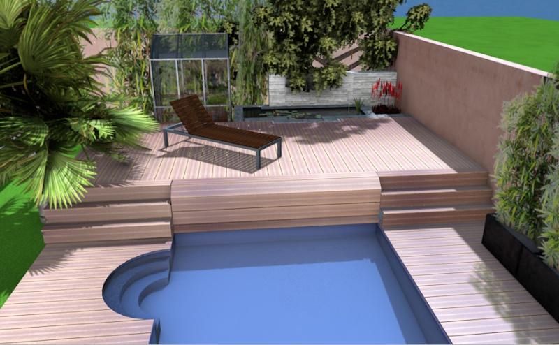 Projet de bassin en terrasse 2000l ou plus for Projet terrasse en 3d