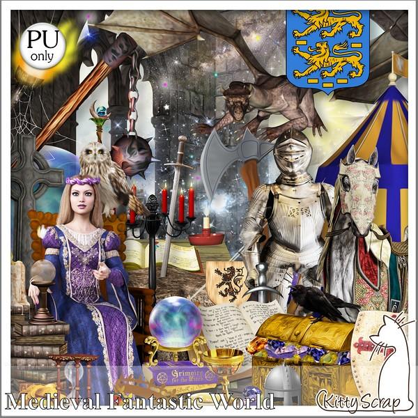Medieval fantastic world de Kittyscrap dans Avril kittys17