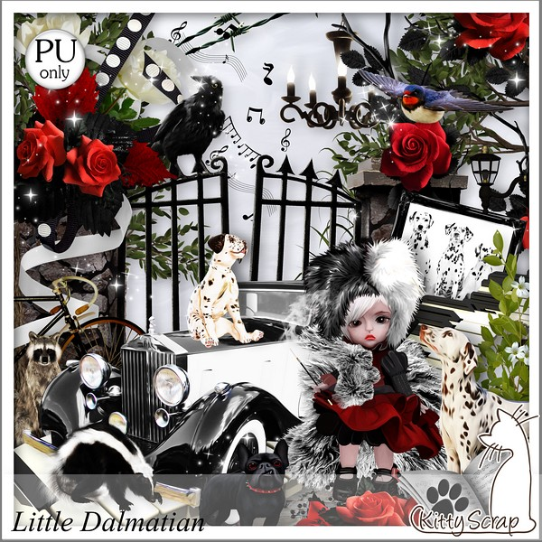 Little Dalmatian de Kittyscrap dans Avril kittys25