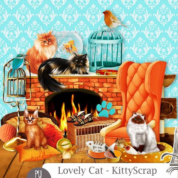 Lovely cat de Kittyscrap dans Avril previe30