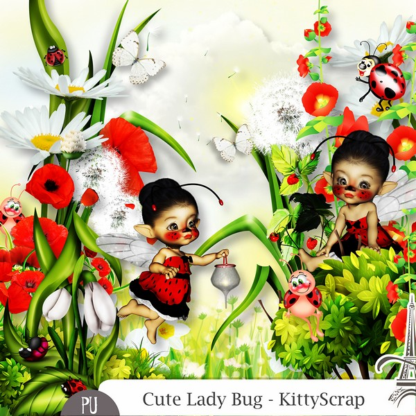 Cute lady bug de Kittyscrap dans Mai previe43