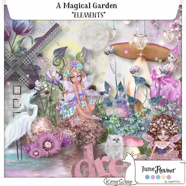 A magical garden de Kittyscrap dans juin previe56