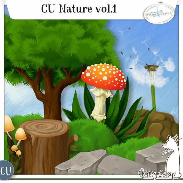 CU nature de Kittyscrap dans Mai previe66