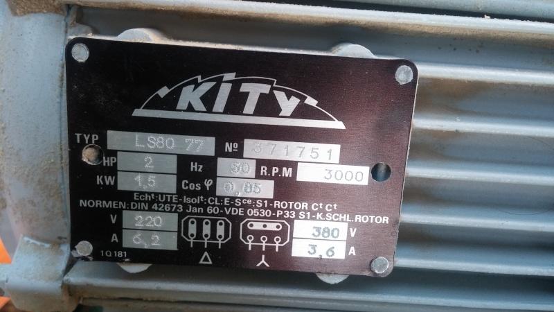 La scie a ruban kity 612 de michel - Quelle puissance pour un aspirateur ...