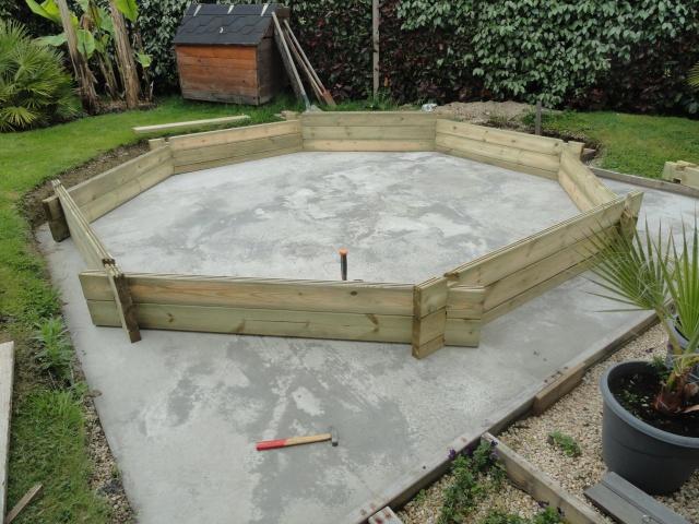 Montage piscine hors sol bois ubbink 430 cm for Buse de refoulement piscine hors sol bois
