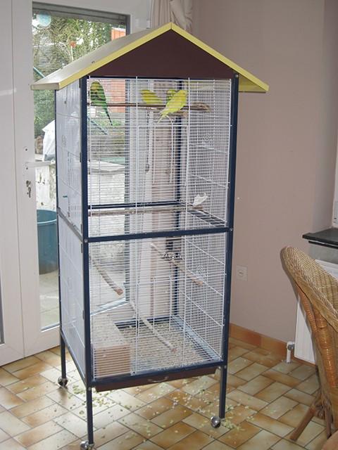 fabrication dune cage oiseaux fabrication dune cage. Black Bedroom Furniture Sets. Home Design Ideas