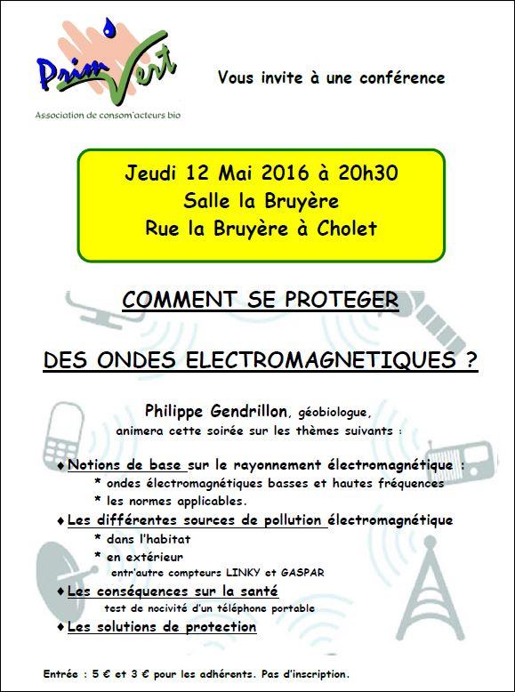 Conf rence ondes electromagn tiques onvasortir cholet for Onvasortir cholet