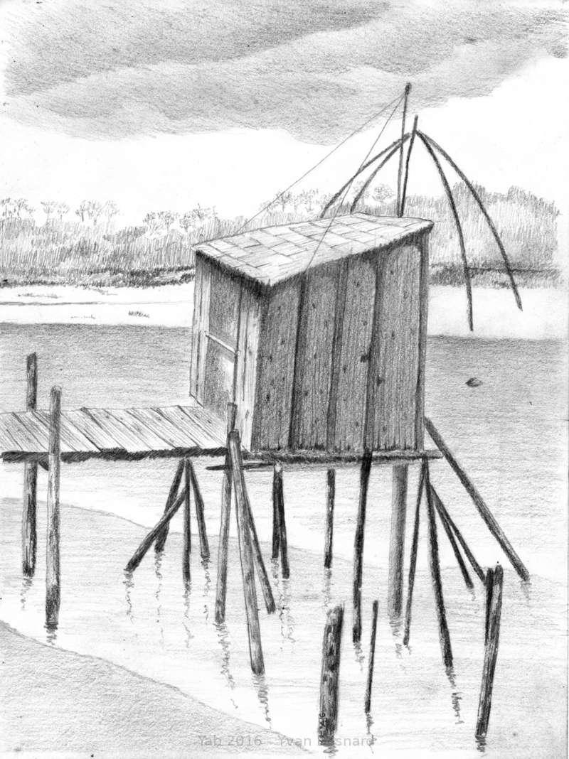 Un dessin par jour qui veut jouer - Dessin cabane ...