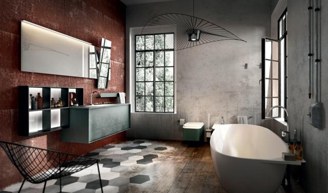 photos de salle de bains design - page 2 - Salle De Bain Style Loft