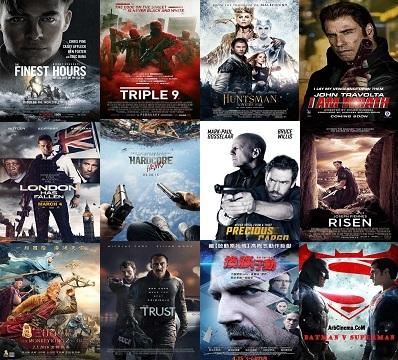 افضل 28 فيلم اكشن وخيال علمي فى شهر أبريل 2016