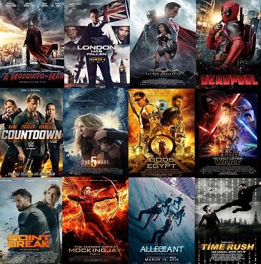 افضل 26 فيلم اكشن وخيال علمي فى شهر مارس 2016